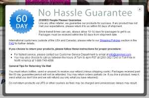 zenmed people pleaser guarantee
